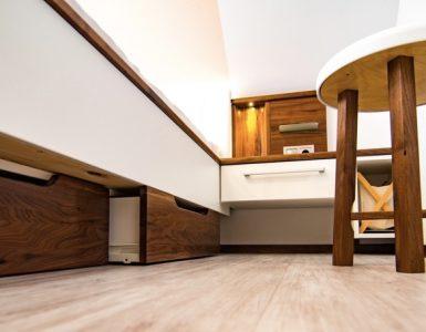 Schlafzimmer- Detail
